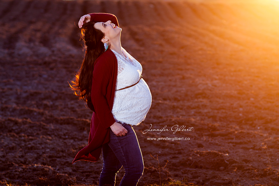 Jennifer's Sunset Maternity Session
